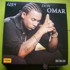 CDs de Música: DON OMAR / DALE DON DALE (CD SINGLE 2004). Lote 35630412