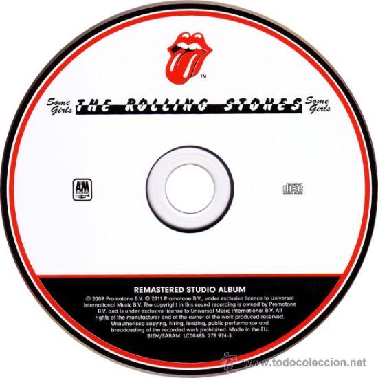 CDs de Música: THE ROLLING STONES * SOME GIRLS * DELUXE EDITION 2011 * DIGIPACK EDITON * PRECINTADO - Foto 2 - 179095153