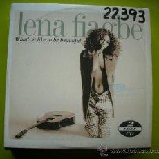 CDs de Música: LENA FIAGBE / WHAT´S IT LIKE TO BE BEAUTIFUL - ANOTHER SEASON (CD SINGLE 1994) PEPETO. Lote 35646610