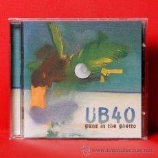 CDs de Música: UB40 GUNS IN THE GHETTO CD. Lote 35655335