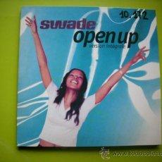 CDs de Música: SWADE / OPEN UP (2 VERSIONES) - DON´T LOVE ME NOW (CD SINGLE 1999) PEPETO. Lote 35680089