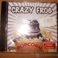 CDs de Música: CD - CRAZY FROG - POPCORN - PRECINTADO. Lote 35692763