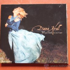 CDs de Música: DIANA KRALL. WHEN I LOOK IN YOUR EYES. Lote 39717558