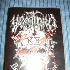 CDs de Música: DVD VOMITORY - DEAD & DRUNK LIVE - EDICION LIMITADA 1000 UNIDADES - FIRMADA!!! - BRUTAL DEATH METAL. Lote 35704137