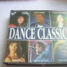 CDs de Música: DOBLE CD DANCE CLASSICS AÑOS 80. Lote 35730116
