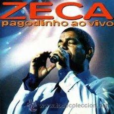 CDs de Música: CD ZECA PAGODINHO AO VIVO. Lote 35728275