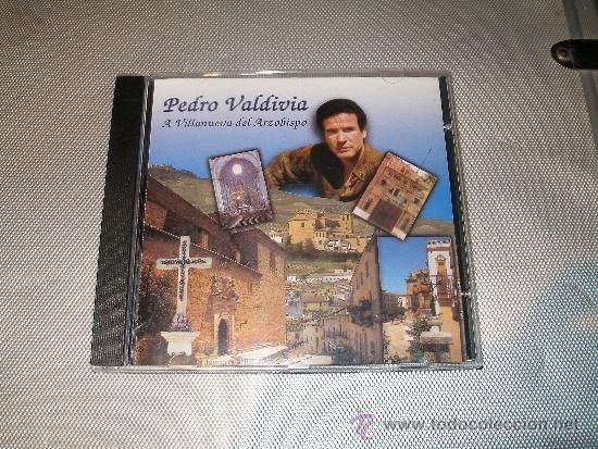 PEDRO VALDIVIA - A VILLANUEVA DEL ARZOBISPO (Música - CD's Flamenco, Canción española y Cuplé)