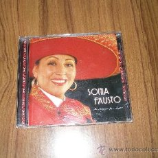 CDs de Música: SONIA FAUSTO - MI REGRESO POR TU AMOR (RANCHERAS). Lote 96651356