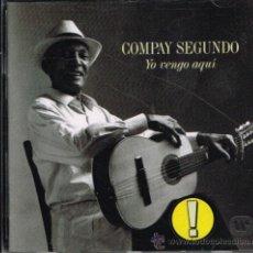 CDs de Música: COMPAY SEGUNDO - YO VENGO AQUÍ - CD 1996. Lote 35759624