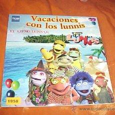 CDs de Música: VACACIONES CON LOS LUNNIS. EL RITMO LUNNAR. CD PROMOCIONAL. SONY MUSIC 2004. Lote 35763028