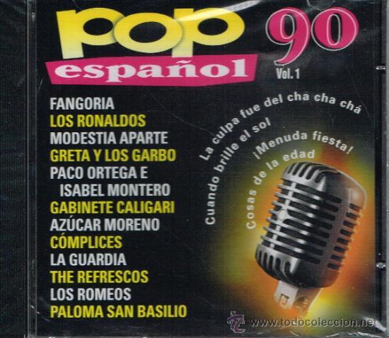 Pop Español 90 Cd 2000 Buy Cd S Of Pop Music At Todocoleccion 35767042