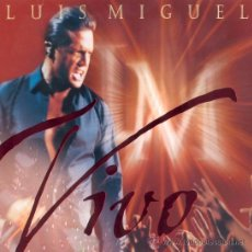CDs de Música: LUIS MIGUEL - VIVO (PRECINTADO). Lote 35784574