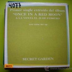 CDs de Música: SECRET GARDEN / YOU RAISE ME UP - VERSIÓN (CD SINGLE 2001) PEPETO. Lote 35788376