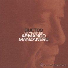 CDs de Música: ARMANDO MANZANERO - DUETOS (LO MEJOR DE ARMANDO MANZANERO) (PRECINTADO). Lote 35815879
