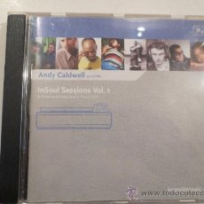 CDs de Música: (7011) ANDY CALDWELL- IN SOUL SESSIONS VOL.1- CD- HOUSE-. Lote 35817476