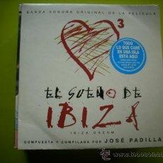 CDs de Música: JOSÉ PADILLA / EL SUEÑO DE IBIZA - ADIOS AYER (CD SINGLE 2002) PEPETO. Lote 35820291