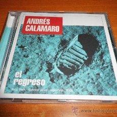 CDs de Música: ANDRES CALAMARO EL REGRESO CD ALBUM 2005 CONTIENE 21 TEMAS LOS RODRIGUEZ LOS ABUELOS DE LA NADA. Lote 35829530