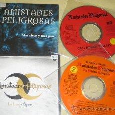 CDs de Música: AMISTADES PELIGROSAS - LOTE DE 4 CDS SINGLES PROMOS. Lote 35845521