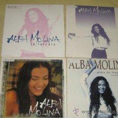CDs de Música: ALBA MOLINA - LOTE DE 4 CDS SINGLES PROMO. Lote 35845581
