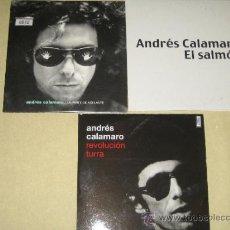 CDs de Música: ANDRES CALAMARO - LOTE DE 3 CDS SINGLES PROMO. Lote 35845607