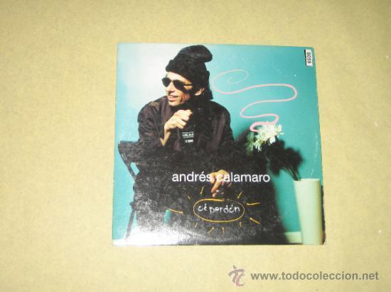 ANDRES CALAMARO - OK PERDON - CD SINGLE PROMO (Música - CD's Otros Estilos)