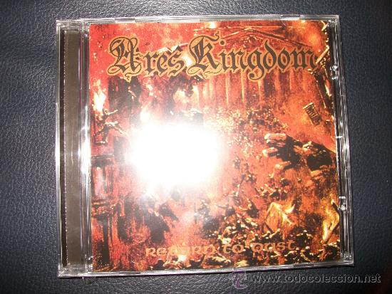 ARES KINGDOM - RETURN TO DUST - CD - PRECINTADO (Música - CD's Heavy Metal)