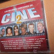 CDs de Música: LAS MEJORES CANCIONES DEL CINE VOLUMEN 2- DOBLE ¡¡¡A ESTRENAR¡¡¡ PLASTIFICADO DE FCA ¡¡¡ AÑO 2000¡¡¡. Lote 35838235