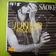CDs de Música: JUNIOR MIGUEZ / SAOKE (CD SINGLE 2003). Lote 35846739