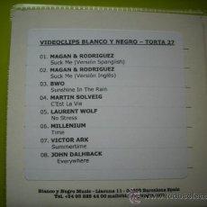 CDs de Música: VIDEOCLIPS BLANCO Y NEGRO TORTA 27 / CD SINGLE PEPETO. Lote 35846834