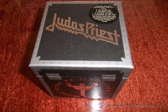 JUDAS PRIEST THE RE-MASTERS 12 CD BOX (Música - CD's Heavy Metal)