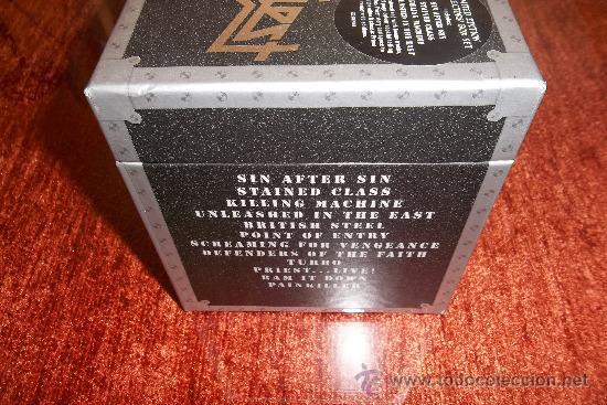 CDs de Música: Judas Priest The Re-masters 12 CD Box - Foto 2 - 35856553