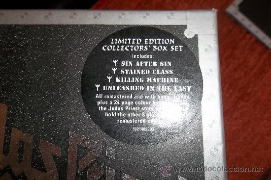 CDs de Música: Judas Priest The Re-masters 12 CD Box - Foto 3 - 35856553