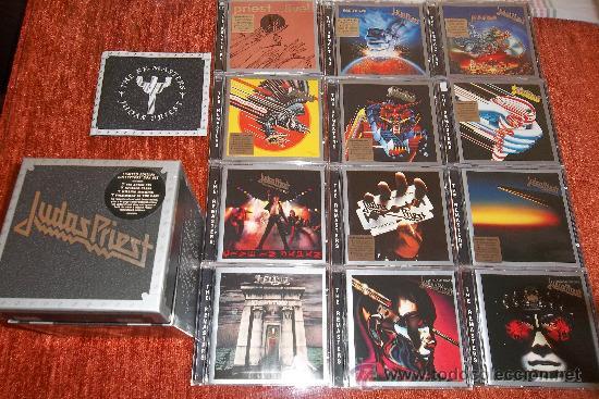 CDs de Música: Judas Priest The Re-masters 12 CD Box - Foto 7 - 35856553