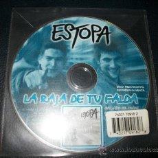 CDs de Música: PROMO MCD - ESTOPA - LA RAJA DE TU FALDA. Lote 35881973