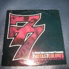 CDs de Música: PROMO MCD - 7 NOTAS 7 COLORES - NIKES NUEVAS. Lote 35883069