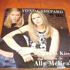 CDs de Música: VONDA SHEPARD. IT'S IN HIS KISS. CANCION DE ALLY MCBEAL. CD PROMOCIONAL. Lote 35890263