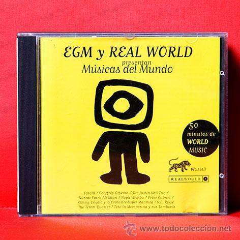 Egm Y Real World Presentan Musicas Del Mundo Cd