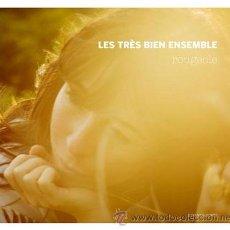 CDs de Música: CD LES TRES BIEN ENSEMBLE ROUGEOLE LOS FRESONES REBELDES. Lote 35909340