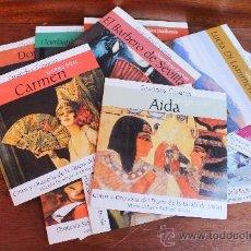 CDs de Música: GRANDES OPERAS: LOTE DE 16 CD -AIDA (VERDI) -CARMEN (BIZET) -LA FORZA DEL DESTINO (VERDI) - ETC... Lote 35911396