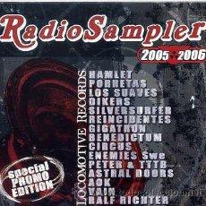 CDs de Música: RADIO SAMPLER DEL SELLO LOCOMOTIVE (CD 15 TEMAS 2006). Lote 35952113