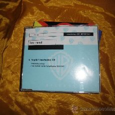 CDs de Música: LOU REED. HANG ON TO YOUR EMOTIONS. CD PROMOCIONAL. EDICION ALEMANA. Lote 36002279