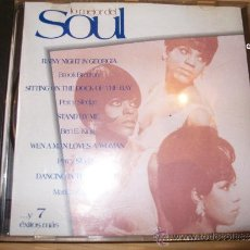 CDs de Música: LO MEJOR DEL SOUL - MARTHA REEVES , PERCY SLEDGE , BEN E KING , ETC - GILLETTE. Lote 36015603