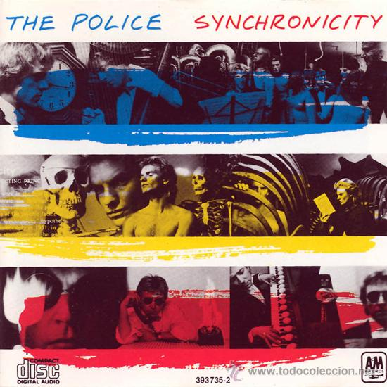 THE POLICE - SYNCHRONICITY (PRECINTADO) (Música - CD's Rock)