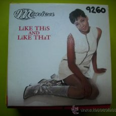 CDs de Música: MONICA / LIKE THIS AND LIKE THAT - DON´T TAKE IT PERSONAL (CD SINGLE 1996) PEPETO. Lote 36021441