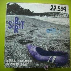 CDs de Música: JOAN MANUEL SERRAT / MENSAJES DE AMOR DE CURSO LEGAL (CD SINGLE 1994). Lote 36031899