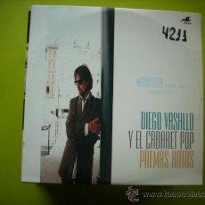 CDs de Música: DIEGO VASALLO Y EL CABARET POP / POEMAS ROTOS (CD SINGLE CARTÓN 1995). Lote 36032177
