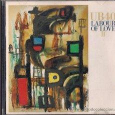 CDs de Música: UB40 - LABOUR OF LOVE II - CD - VIRGIN 1989 - REEDICIÓN HOLANDESA DE 1991. Lote 36021734