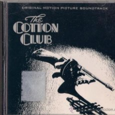 CDs de Música: BSO COTTON CLUB - CD - GEFFEN 1984. Lote 36029045