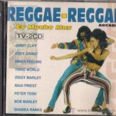 CDs de Música: REGGAE REGGAE ES MUCHO MÁS - 2CD - ARCADE 1993 - JIMMY CLIFF, EDDY GRANT, DESMOND DEKKER. Lote 36030960