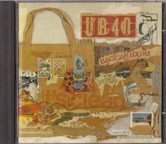 UB40 - BAGGARIDDIM - CD - VIRGIN 1985 - EDICIÓN HOLANDESA (Música - CD's Reggae)